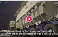 چگونگی انتقال 155 تن در 3000 کیلومتر طی 4 ساعت